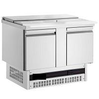 ψυγείο σαλατών με μηχανή από κατώ